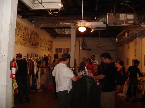 Magpie Vintage Party at Young Blood Gallery