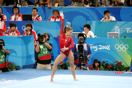 Shawn Johnson competes by bryangeek.
