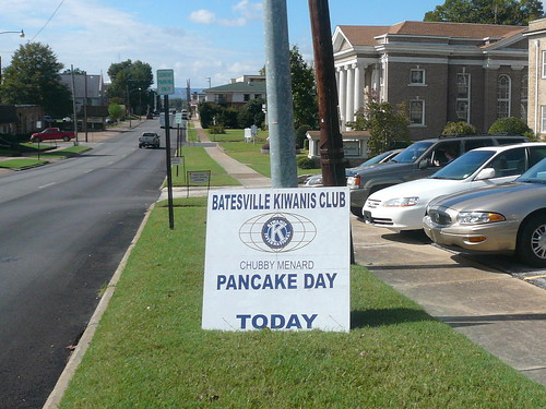 Chubby Menard Pancake Day