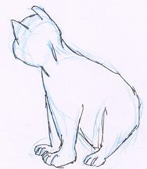 Cats, part 11 (rough sketch)