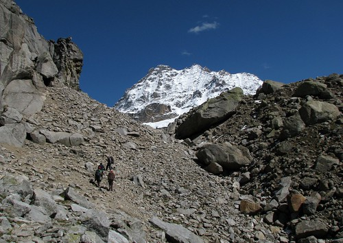 we, about to reach Hampta Pass by Gαurαv