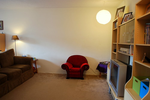 living room as it is now