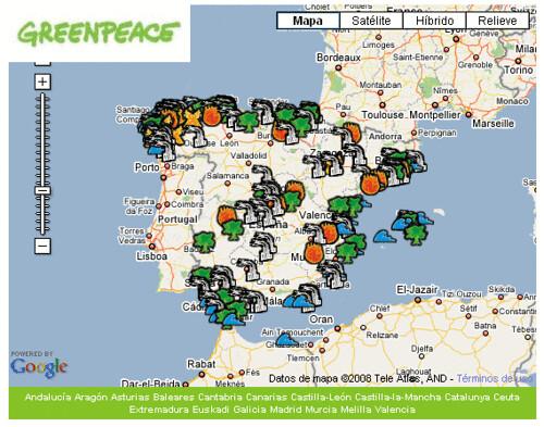 fotodenuncia greenpeace
