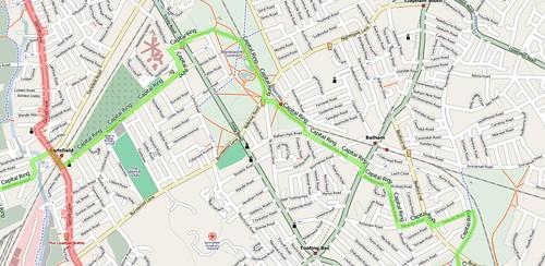 Capital Ring through Earlsfield