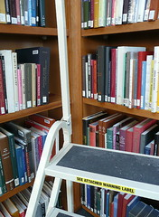 Beware of book ladders