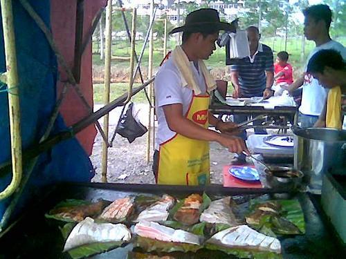 Sibu Ramadhan stall - ikan bakar 1