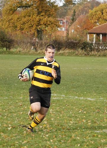 Men's Rugby 12-11-08: Sam Newsome