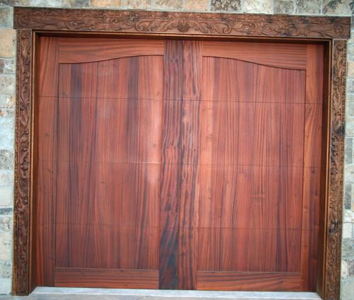 garagedoorcustomgaragedoor inclinedoorcompany custombuiltgaragedoor mahoganygaragedoor