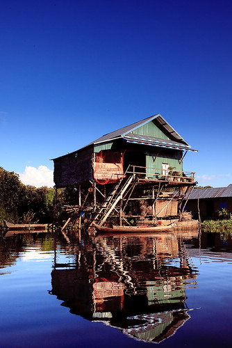Fishing Village at Tonle Sap