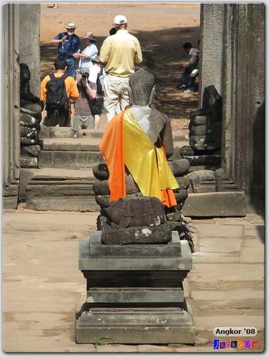 Buddha Statue at the Bayon