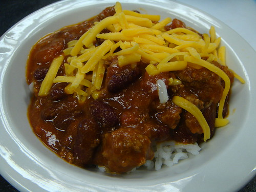 Blitman - Meat Chili over Rice