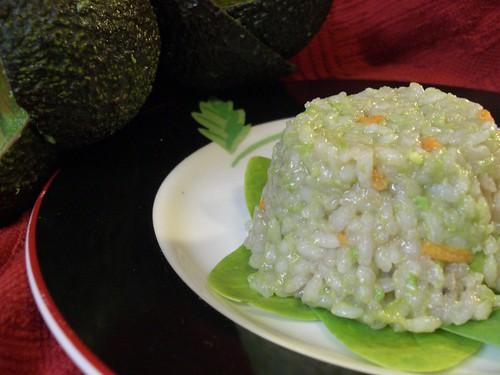 Advacodo sushi salad