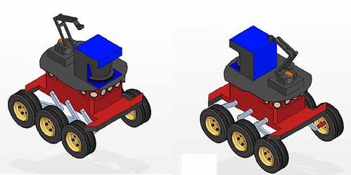 Potential Surrey Lunar Rover design