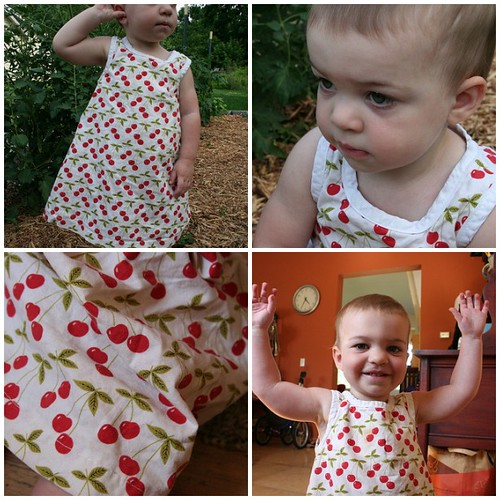 Cherry Sundress, Butterick 4712