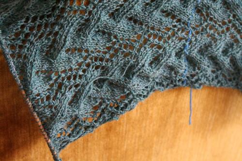 It's not a shawl, OK? It's a SCARF.
