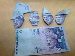 Origami of RM1 or MYR1 by remmy