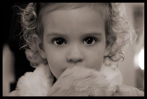 Addie & Bear's closeup