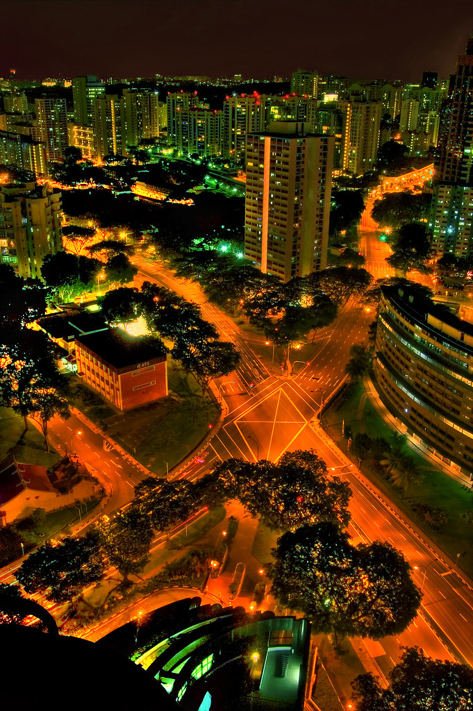 Singapore City Streets