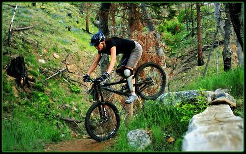 Jamie on Rock Drop