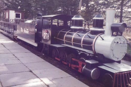 Meanbh-rèile Pàirce Craigtoun c1985