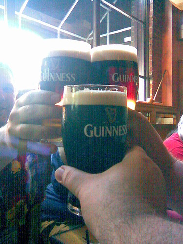 Guinness at the Claddagh