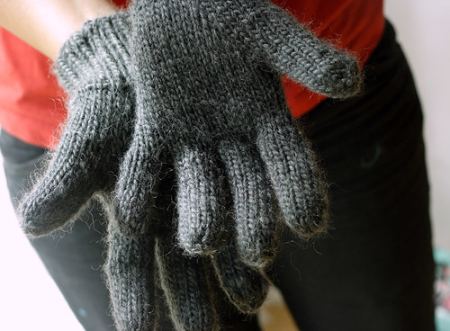 Dad's gloves