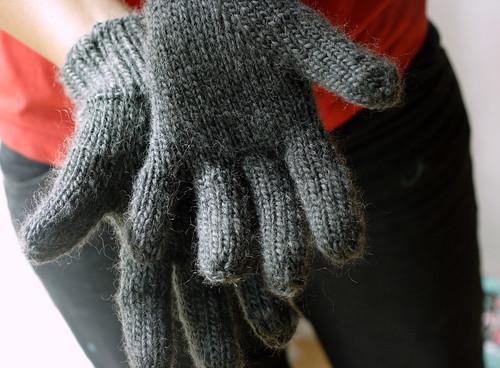 Dad's gloves