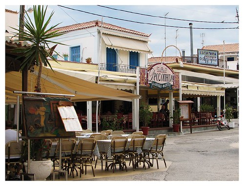 Restaurants on Spetses island by you.