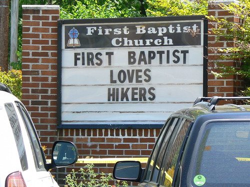 Trail Days - First Baptist Loves Hikers