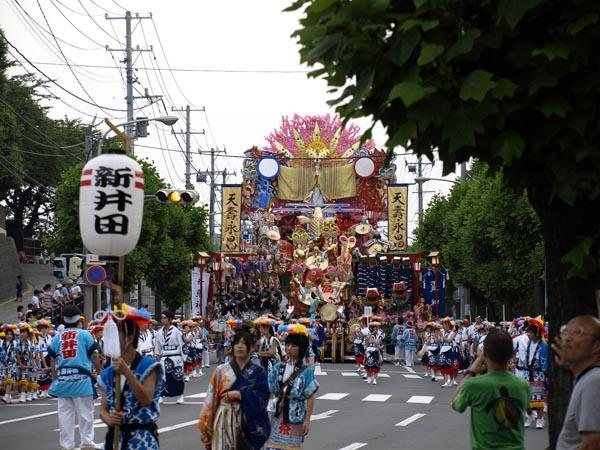 2008年 八戸三社大祭 お通り 16