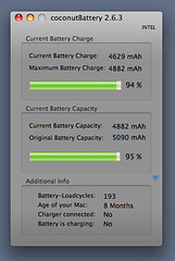 MacBook Air charged with 45W charger