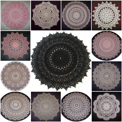 ~ some of my doilies! ~
