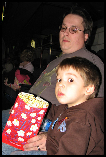 Popcorn munching