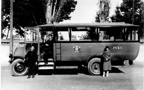 manufactured bus from 1926
