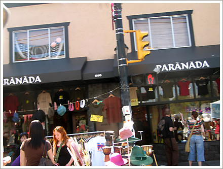 Car Free Commercial Drive 2008 Paranada