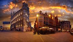 Grote Market, Leuven, Belgium