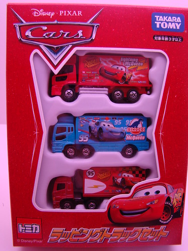 Tomy Disney CARS 3 pack