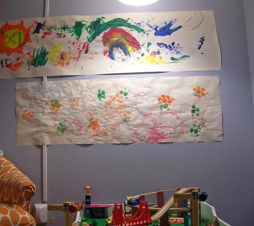 """Bubble art in """"gallery"""""""