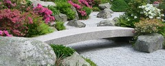 Japanese Garden Bridge Minicard