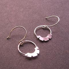 Upside down Sunrise Earrings