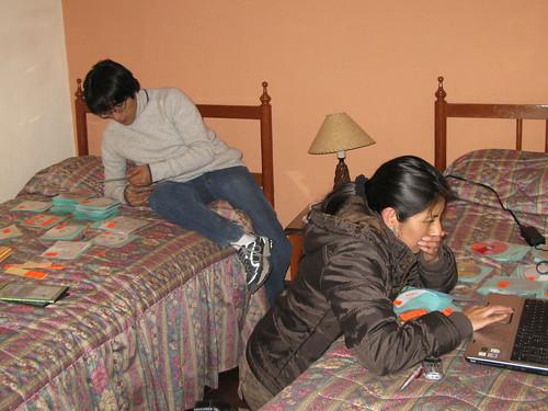 FENACO Cusco Perú 2008, preparativos