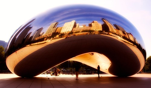 Cloud Gate to the city