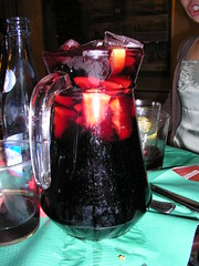 yummy sangria in Valencia