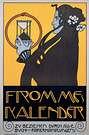 Koloman Moser. Poster para Fromme's Kalender, 1912-1913.