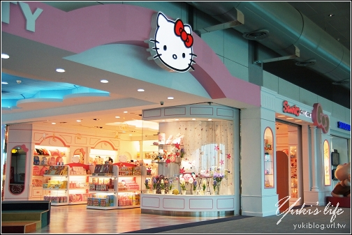 [08東京假期]*C40 桃園中正機場.第二航廈~ Hello Kitty候機室 - yukiblog.tw
