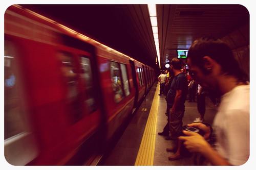 yine taksim metrosu