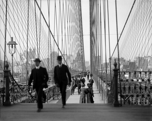 Brooklyn Bridge, New York City, ca. 1910