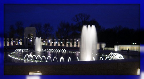 World War II Memorial Fountains and Arch