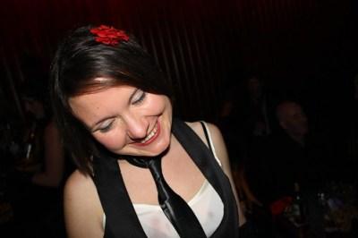 Liz at Burlesque Night
