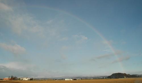 Rainbow over the Carse